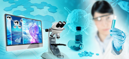 biomedical research abstract background