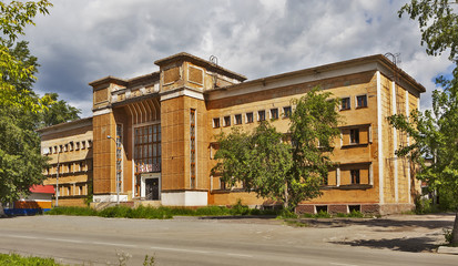 Здание бани. Нижний Тагил. Свердловская область