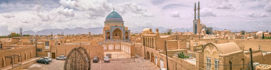 Yazd panorama view