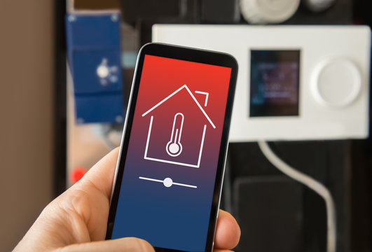 Control smart home heating
