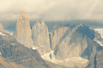 Sticker - Granite Towers - Torres Del Paine National Park - Chile