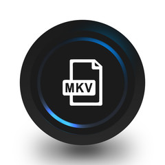 Mkv file icon.