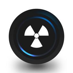 Radiation icon.