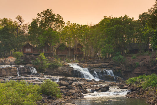 Waterfall at the Boloven, Laos