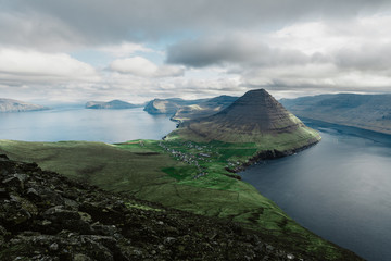 Otherworldly landscape in the Faroe Islands
