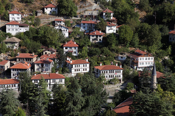 Traditional Ottoman Homes in Goynuk Bolu, Turkey