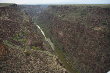 Rio Grande Gorge near Taos, New Mexico