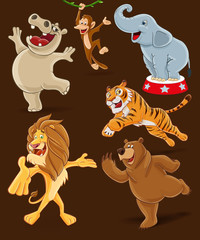 animals cartoon