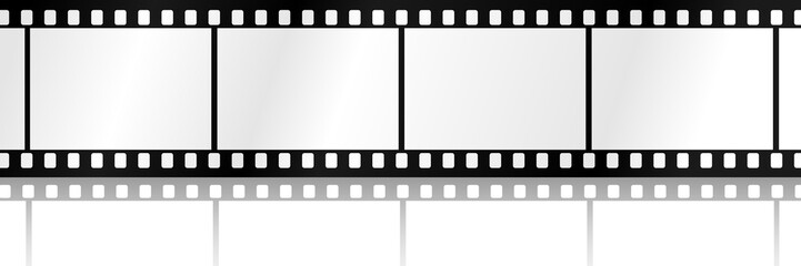 Filmstreifen mit Schatten - WS