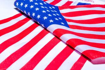 Beautifully  United States of America flag