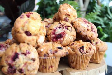 Muffins closeup