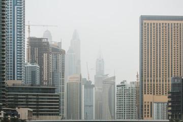 metropolis full of skyscraper
