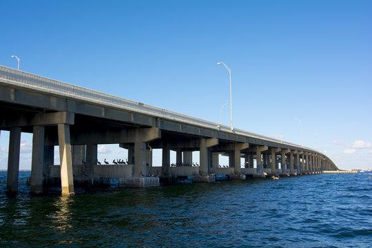 tampa st pete bridge over tampa bay
