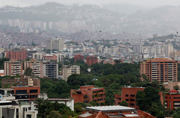 A general view of Caracas, Venezuela