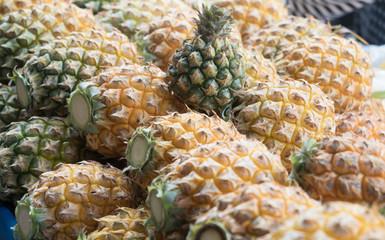 group pineapple
