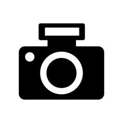 Professional digital camera icon vector illustration design isolated