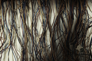 messy old cables