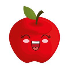 kawaii apple icon
