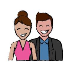 happy couple icon