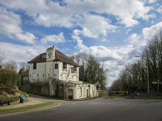 The Derelict Upper Bell Inn, Kent, UK