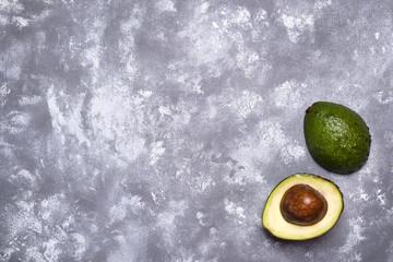 Avocado. Cut avocado