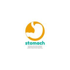 Human stomach logo