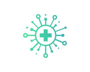 Share Medical Icon Logo Design Element