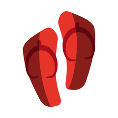 flip flops sandals icon image