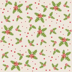 Endless Christmas Pattern.
