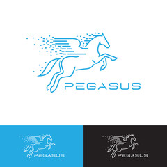 Simple Pegasus logo