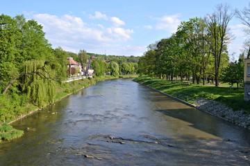Rzeka Olza w Cieszynie