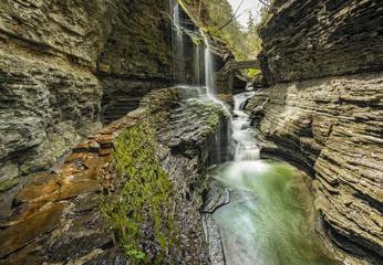 Watins Glen cascada / Waterfall