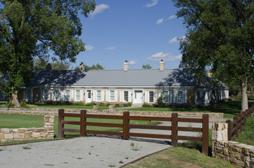 Watrous Ranch House and Store on the Santa Fe Trail