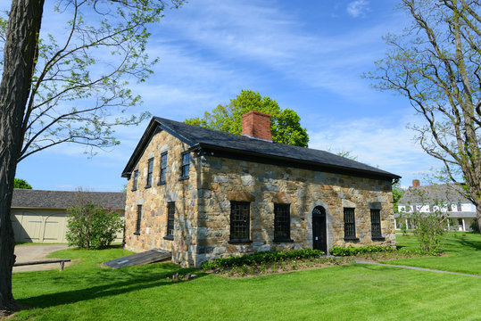 Vermont House is a stone structure built in 1790 in Shelburne, Vermont, USA.