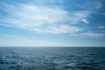 Fotorollo Nordsee Blick auf die offene Nordsee