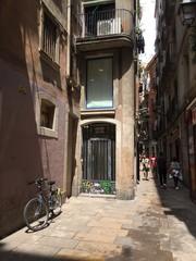 Street life in Barcelona (Catalunya, Spain)