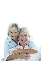 Portrait of a Happy retired senior couple