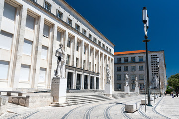 Coimbra University is an ancient University in Portugal