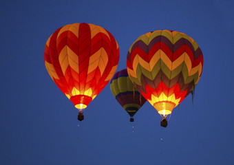 Hot Air Ballooning - Albuquerque , New Mexico