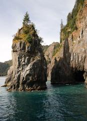 Rocky Buttes Kenai Fjords North Pacific Ocean Alaska