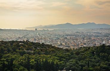 Panoramic view of Athens. Greece