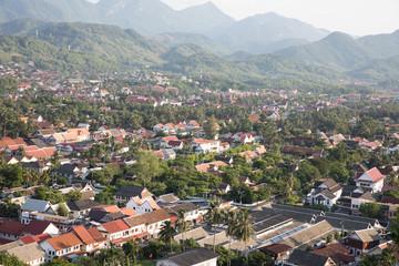 view of Luang Prabang town