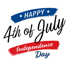 July fourth, United States Independence Day greeting