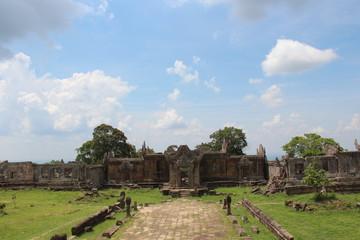Cambodia . Preah Vihear Temple . Preah Vihear Temple . Siem Reap City .