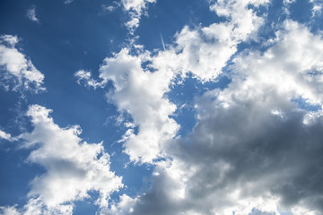 Sky. Clouds.