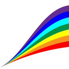 Rainbow diagonal sign 8.04