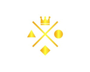 Crown labels, royal