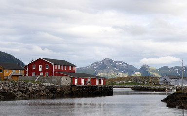 Laukvik, Lofoten Islands, Norway