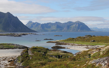Laukvikoyene, Laukvik, Lofoten Islands, Norway