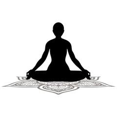 ヨガ 瞑想 曼荼羅